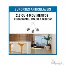"""Suporte Articulado para TV LED, LCD, Plasma, 3D e Smart TV de 10"""" a 55"""" – Brasforma - SBRP 1040"""